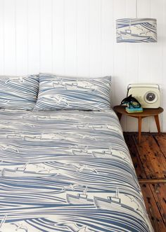 Whitby Pattern Duvet Cover by mini moderns