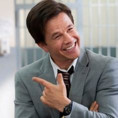 """This phase is """"Mark Wahlberg: Comedian,"""" and this phase needs to end immediately before the damage continues. It was fun when we were all discovering Wahlberg's latent sense of humor Wahlberg Brothers, Mark Wahlberg, Sexy Men, Sexy Guys, We Need, Comedians, Actors & Actresses, Laughter, Dance"""