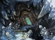 mountain temple fantasy - Google Search