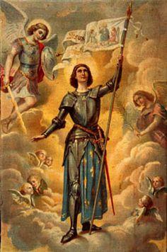 Saint of the day – May 30 – St Joan of Arc! Patron of France, Martyrs, Captives… Catholic Art, Catholic Saints, Patron Saints, Roman Catholic, Religious Art, Joan D Arc, Saint Joan Of Arc, St Joan, Papa Legba