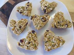 Hearty Granola Bars cheryl's notes for this recipe: My son is allergic to many different varieties of nuts so buying granola bars and various snacks is hard. I came up with Hearty Granola Bars so I knew the ingredients in them were safe for him.