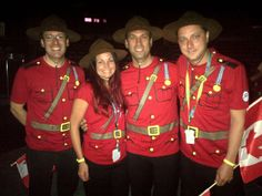 Those are some good looking Mounties! [2014]