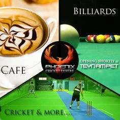 Phoenix cricket centre allows people to play cricket with the leverage bowling machine and also provides cricket coaching. People who are searching for cricket coaching centre in Chennai can make use of it. They also offer billiards, fitness, café and more under one roof. For More Information Visit Our Website:  http://www.phoenixcc.co.in/coaching-center.php