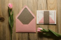 #casamento #convitedecasamento #rosa #glitter