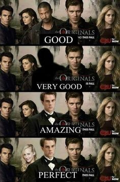 Now this would be the perfect cast , I miss Kol