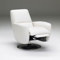Genny Swivel Armchair Cream. looks super comfy and i only need one because no one ever visits.