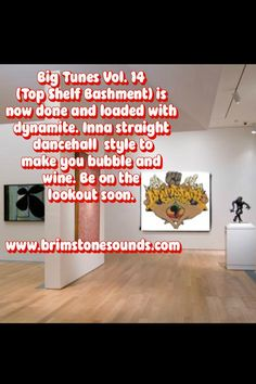 My first strictly Dancehall mixtape will be dropping very soon. A thing called Top Shelf Bashment- 48 tracks of straight, Jamaican bashment; all produced in 2013. Stay familiar.