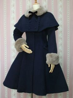 Victorian maiden. Provided that's faux fur, I'm loving this for winter.