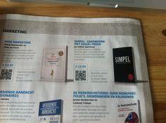Ook in management boek magazine is #simpel van @jwalphenaar terug te vinden!