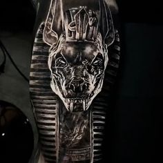 Black & Gray Realism Arm Tattoo Finest Image For humorous couple tattoos For Your Style You're in search of one thing,. God Tattoos, Badass Tattoos, Skull Tattoos, Body Art Tattoos, Anubis Tattoo, Tattoo Sleeve Designs, Sleeve Tattoos, Neck Tattoos, Couple Tattoos
