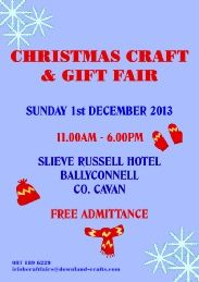 Information for our Christmas Craft & Gift Fair held annually in December in the Slieve Russell Hotel. Christmas Craft Fair, Christmas Crafts For Gifts, Craft Gifts, Craft Fair Displays, Display Ideas, Event Organization, Event Calendar, Craft Fairs, Events