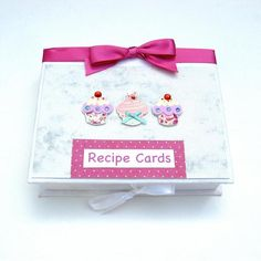 This is a beautiful textured Recipe Card box with a white satin ribbon to fasten at the front. are very pretty and co-ordinate perfectly with the ribbon. Beautiful Gifts, Recipe Cards, Giving, Gifts For Friends, Half Price, Box, Pretty, Recipes, June