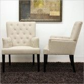 Found it at Wayfair - Baxton Studio Solana Arm Chair