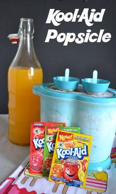 Kool-Aid Popsicles