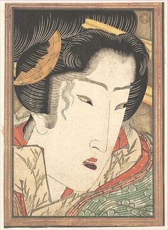 Rejected Geisha from Passions Cooled by Springtime Snow  Keisai Eisen  (Japanese, 1790–1848)  Period: Edo period (1615–1868) Date: 1824 Culture: Japan Medium: Polychrome woodblock print; ink and color on paper