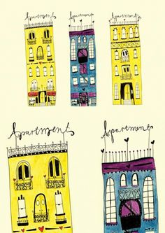 Apartment art print by Lauren Fowler.