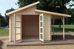 Kundenbild: Gartenhaus Aktiva-28 mit Schleppdach