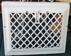 Vintage Cast Iron Architectural Salvaged Wall by shabbychatue, $30.00
