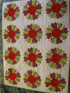 Dresden baby quilt