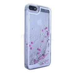 iPhone 5/5S Beautiful Case Şeffaf Hareketli Yıldızlar