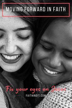 Moving Forward in Faith Christian Life, Christian Quotes, Christian Living, Proverbs 31 Woman, Say That Again, Seeking God, Women Of Faith, Walk By Faith, Love The Lord