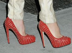 These are kind of amazing. Brian Atwood studded pumps