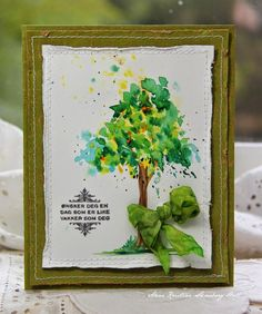 Anne's paper fun: Watercolor for cardmakers.....