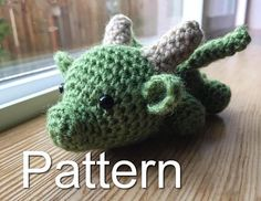 Baby Dragon Crochet Pattern Game of Thrones Crochet
