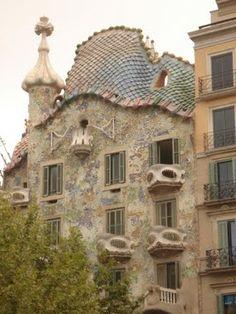 Gaudi's beautiful Casa Battlo