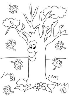 Img dessins a colorier automne herfst pinterest - Coloriage saisons a imprimer ...