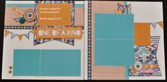 Sarita papers, stickers and accessories.  Inspired by Joann Walton/convention layout.