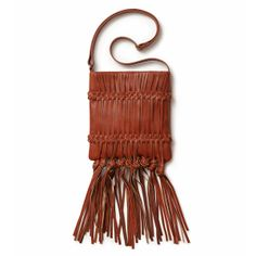 Going on a fringe binge! This brown purse is a girl's best friend.