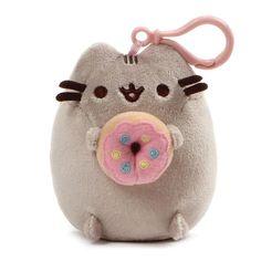 Chat Donut, Donut Cat, Chat Pusheen, Pusheen Plush, Pusheen Stuff, Llama Plush, Pusheen Backpack, Cat Backpack, Grey Tabby Cats