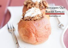 Cinnamon Oat Baked Apples | I Heart Nap Time - Easy recipes, DIY crafts, Homemaking