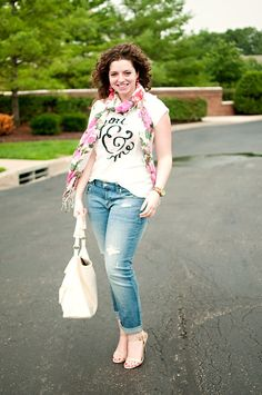 Imagine You and Me shirt. Perfect with boyfriend jeans. Dress up with nude heels or down with flats.