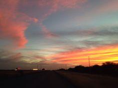 Dios estuvo inspirado hoy pintando el cielo !!!! GOD is a Great Artist !!!!!!