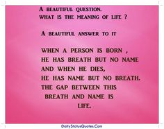 A Beautiful Question  Daily Status Quotes