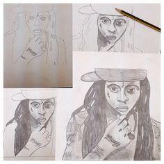 Lil wayne sketch