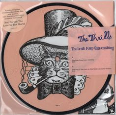 "THE THRILLS Irish Keep Gate Crashing 2005 UK PICTURE DISC 7""45 VINYL MINT VS1895 