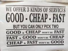 Que tipo de servicio prefieres?