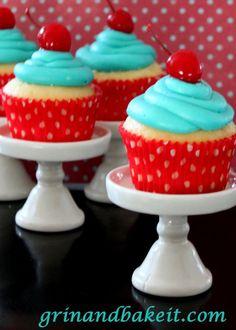 Thirsty Thursday- 25 Alcohol Infused Cupcake Recipes- Grabbinglapels.com