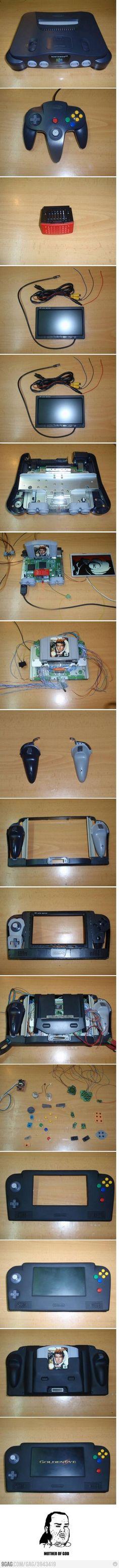 Construye tu propia Nintendo 64 Pocket...