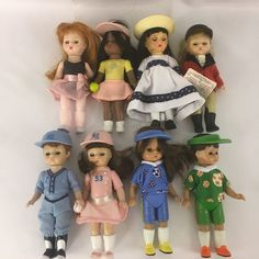 Madame Alexander McDonald's Dolls Lot of 8 Sports 5 Inches Tall Soccer Tennis  #MadameAlexander #Dolls