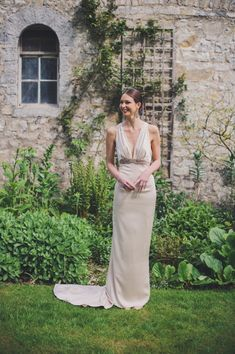 Glamorous and Sultry Wedding Dress.