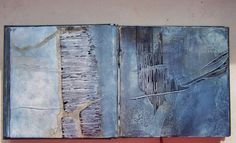 "2. ""I'm searching I - Carnet de recherches"" by Elisabeth Couloigner. This image is discussed in our eBook 'Sketchbook development' getting you into art college. www.portfolio-oomph.com/ebooks/sketchbook-development"