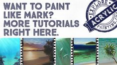 Explore Acrylic Painting - Your Trove of Tips, Tutorials  Techniques.