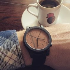 Heritage series on a sunny afternoon. Handcrafted wooden watch by Plantwear. Shop now on www.plantwear.eu