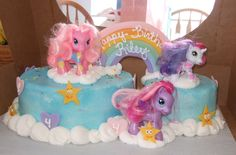 My little pony cake- oh man if only I was this talented.