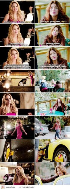 Parallels between Emma & the Women she molded herself from - her Mentor. #Once Upon  A Time - Emma