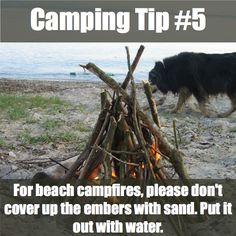 10 Brilliant Camping Tips from Reddit Users - http://50campfires.com/10-brilliant-camping-tips-reddit-users/ #campingtips #campinghacks #camping
